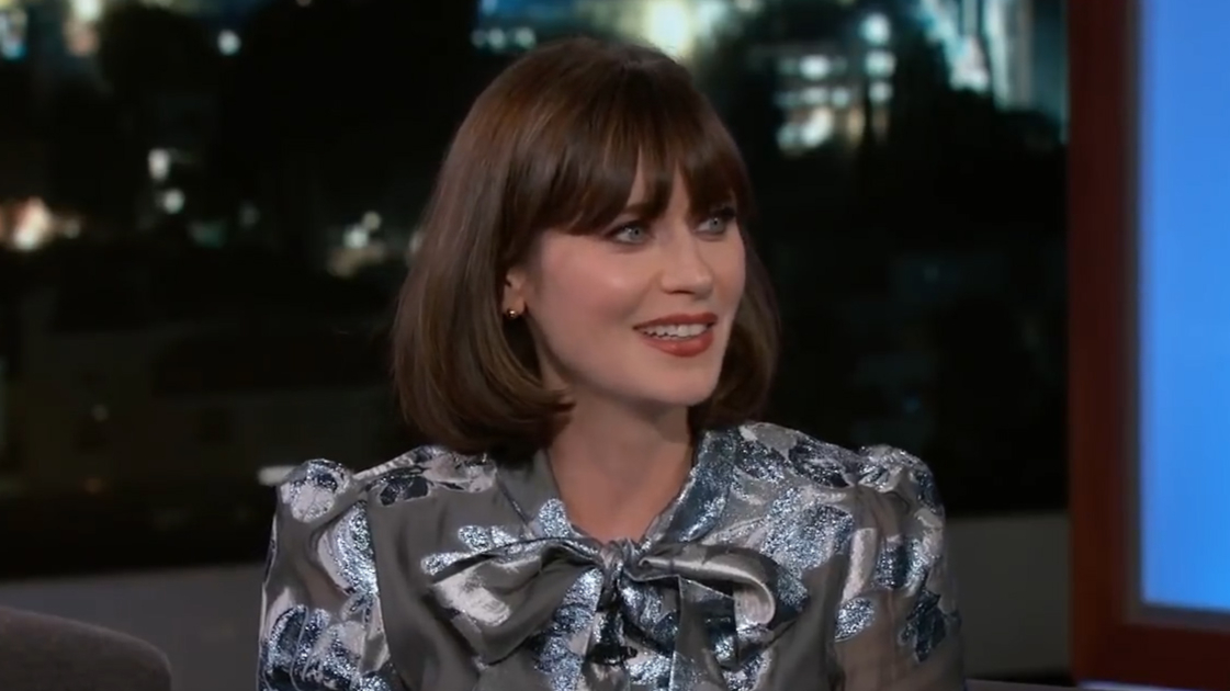 Zooey Deschanel admits her daughter doesn't like her singing