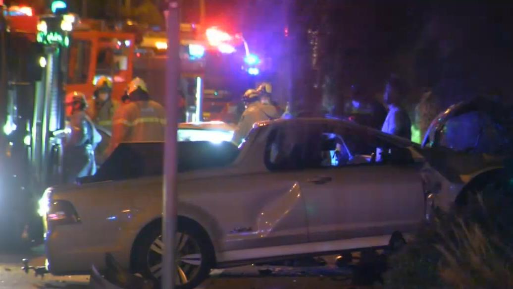 Two men under police guard in hospital after fatal crash