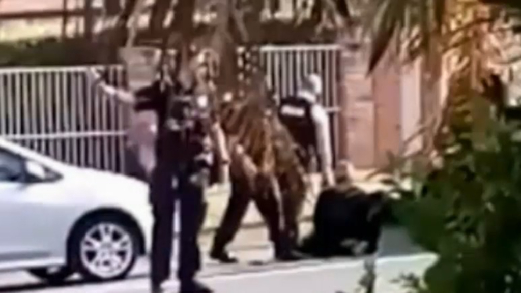 Police take down two men on the run in the Gold Coast