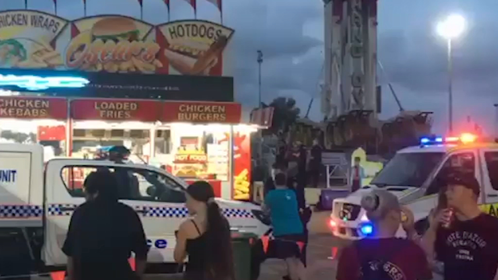 Woman fighting for life after amusement ride fall in Cairns