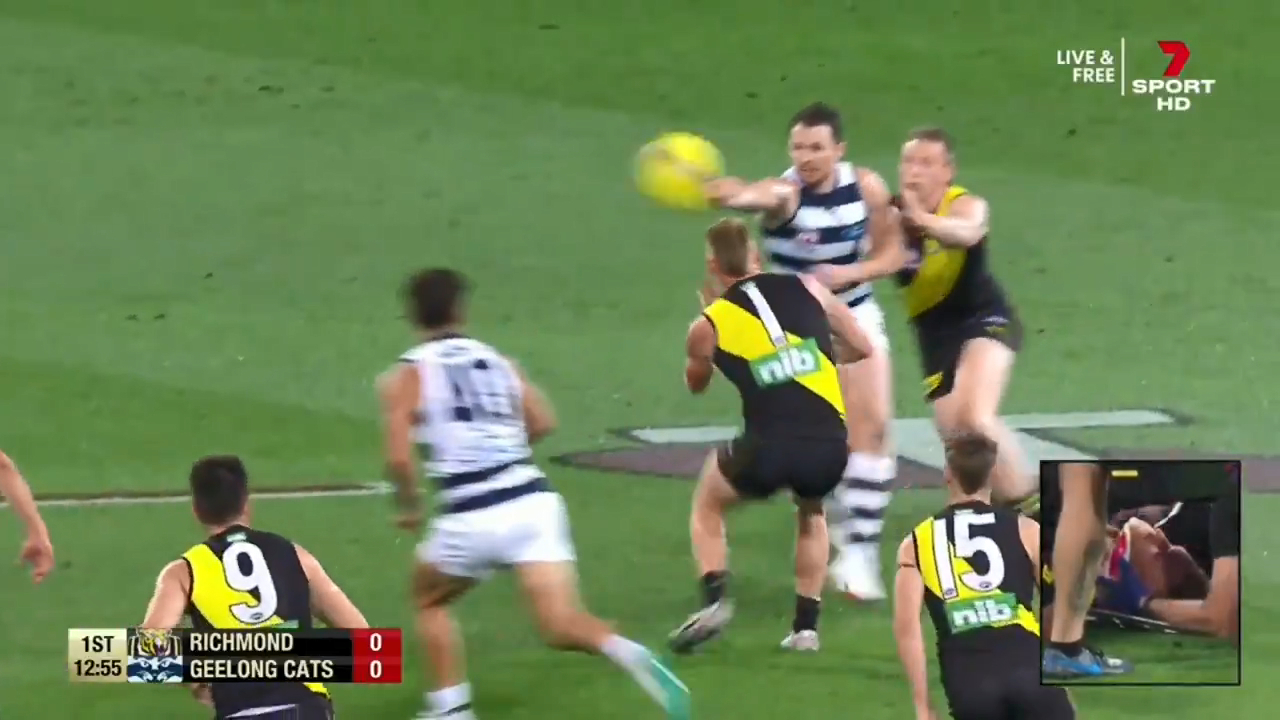 Dangerfield avoids ban for elbow