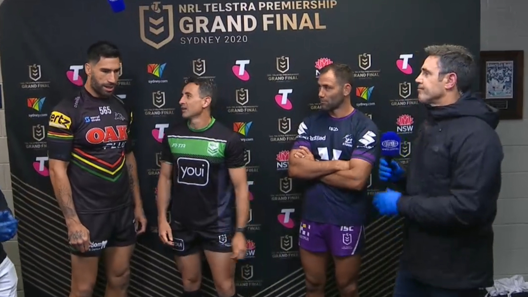 Storm meet Panthers in NRL Grand Final