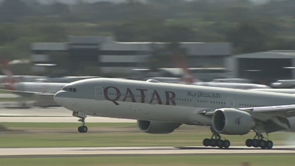Australian passengers allegedly detained after foetus found in Qatar airport