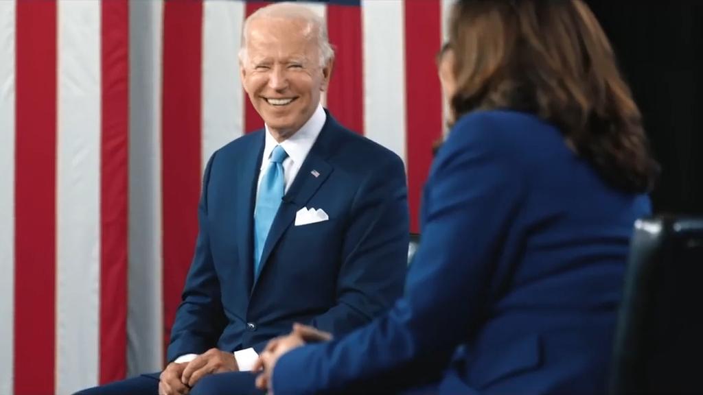 Brad Pitt narrates Joe Biden election video