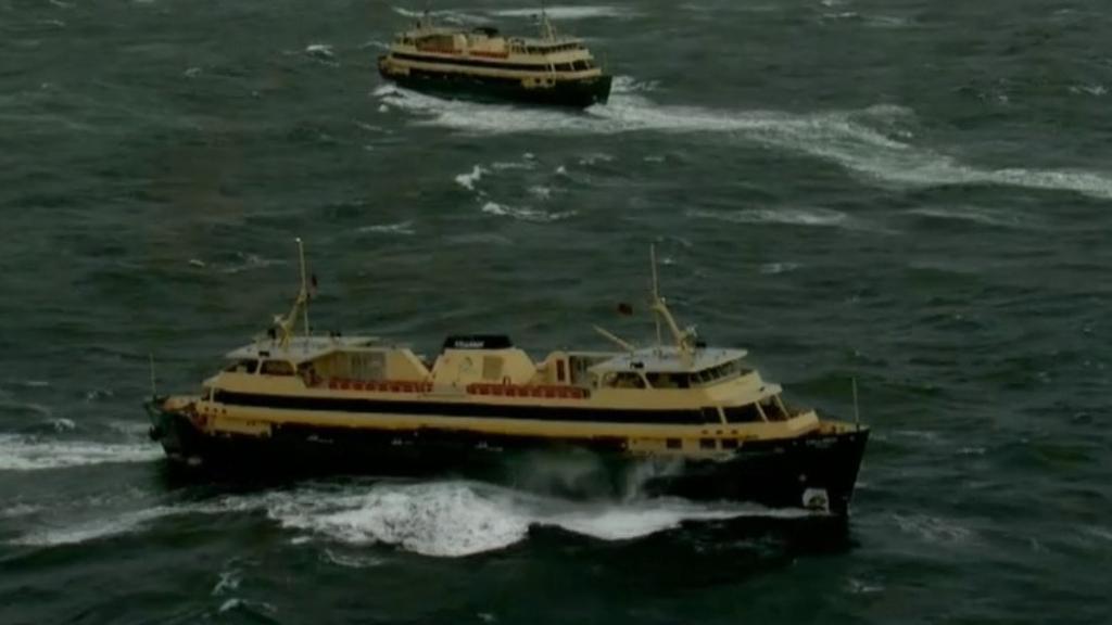 Sydney hit by wild weather