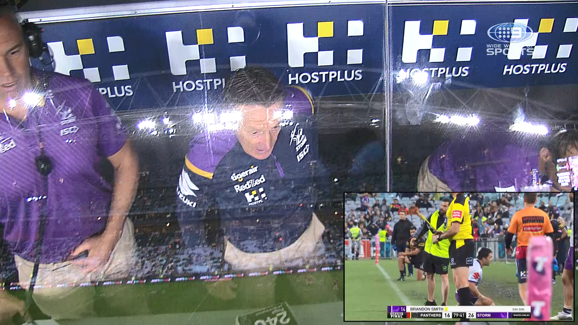 Ride the last six minutes of the NRL Grand Final with Craig Bellamy