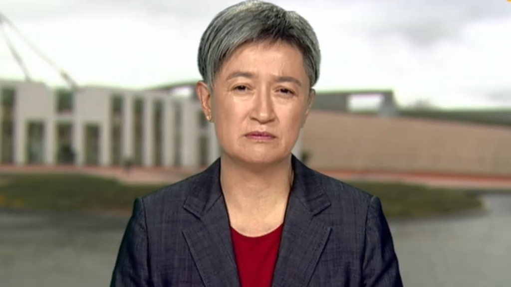 Penny Wong 'genuinely horrified' by women's 'outrageous violation' at Doha Airport