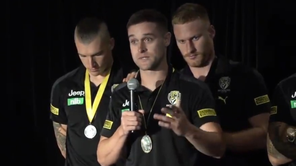 Short's emotional best and fairest speech