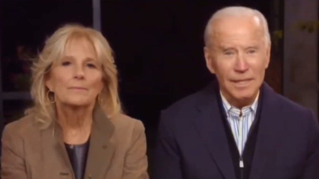 Joe Biden appears to forget Donald Trump's name