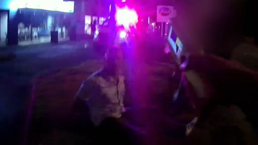 Man tasered in arrest on busy Gold Coast street