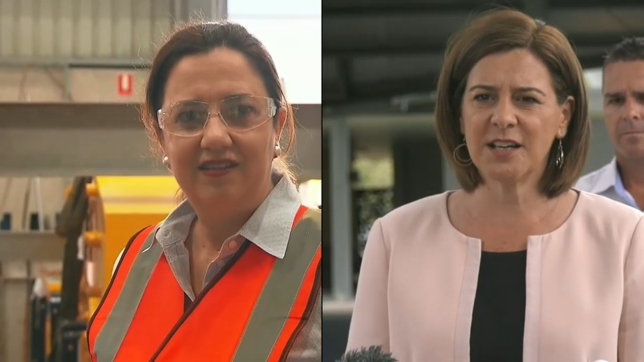 Queensland election campaign makes way to Brisbane