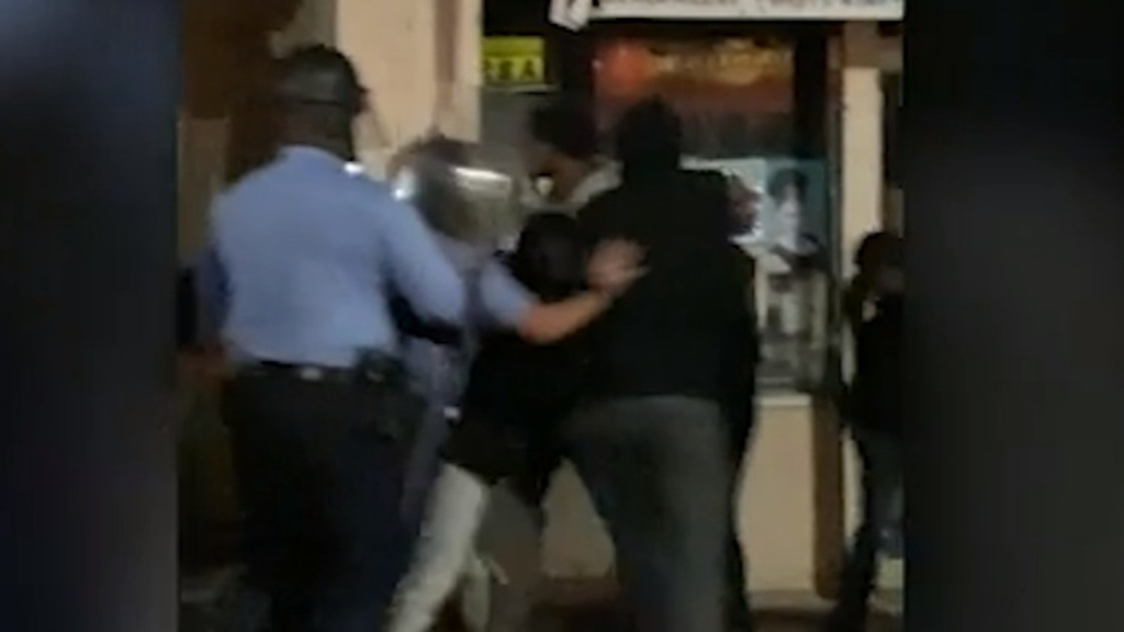 Violence erupts after police shooting in Philadelphia