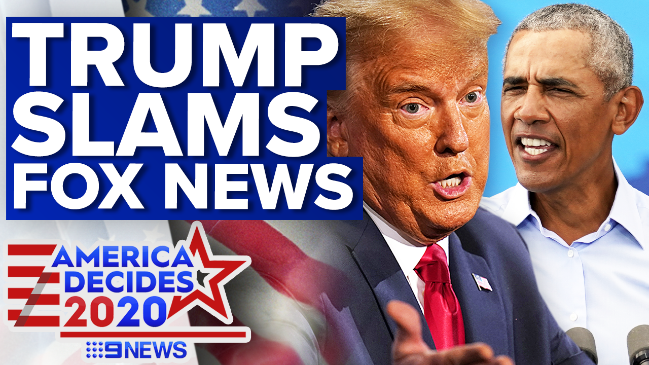 Trump lashes Fox News after Obama broadcast