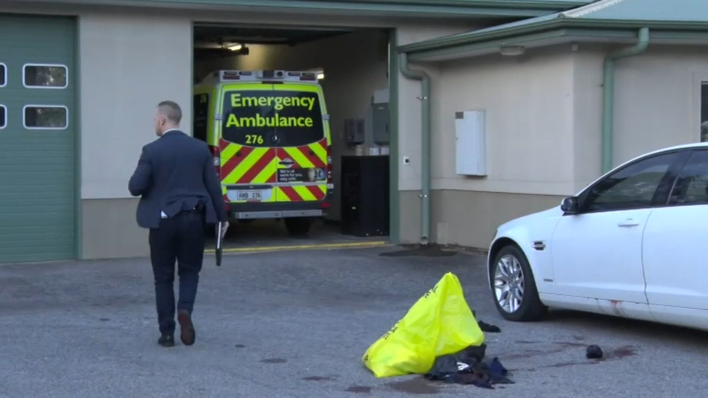 Man in serious condition after stabbing in Adelaide park