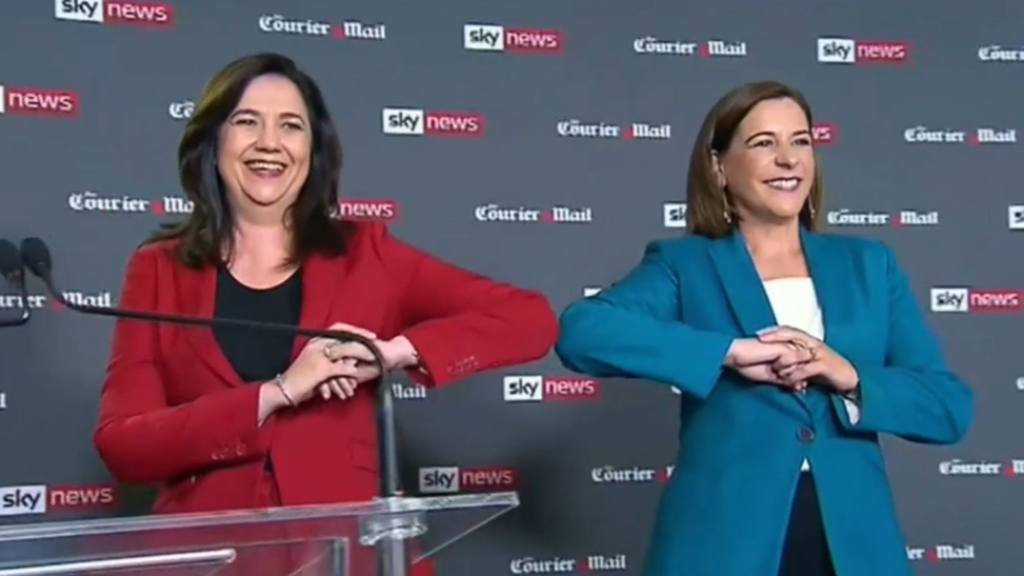 Palaszczuk and Frecklington face off at People's Forum