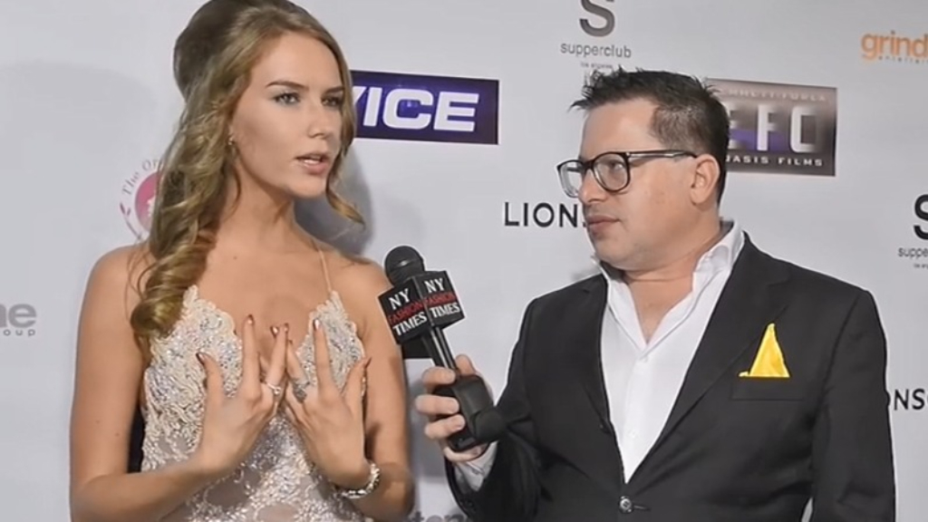 Actress Charlotte Kirk attends the Vice premiere after-party