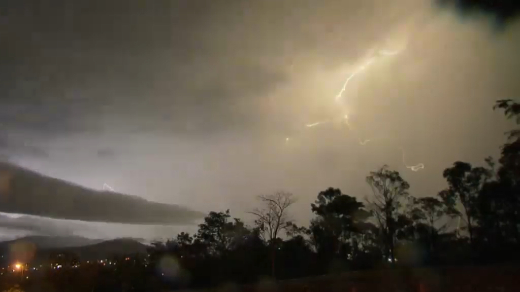 Gold Coast home struck by lightning