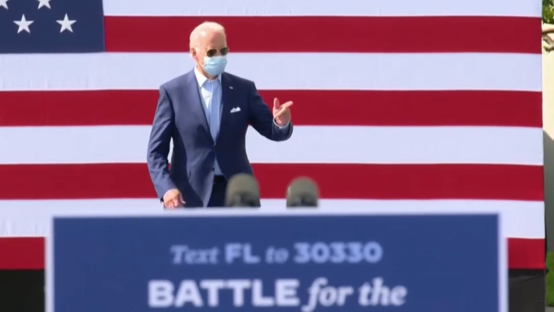 US Election 2020: Trump and Biden rally in Florida