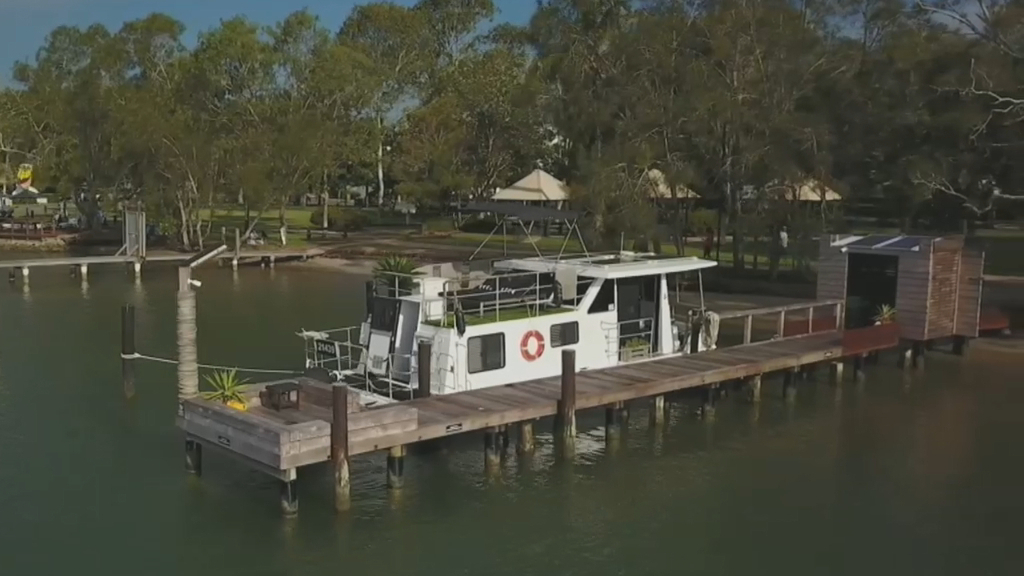 Private Noosa jetty on sale for $1 million
