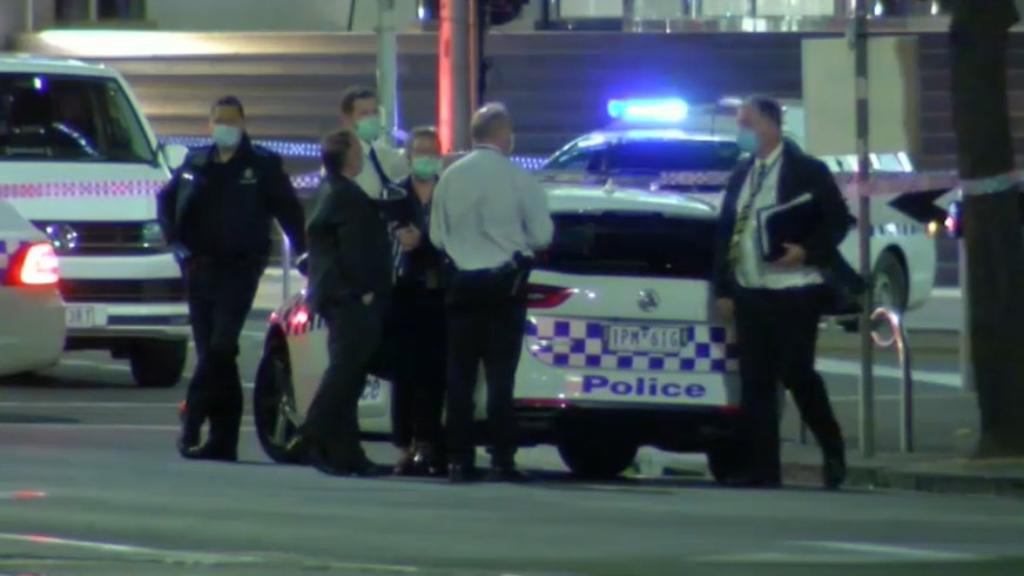 Fatal street fight in Melbourne