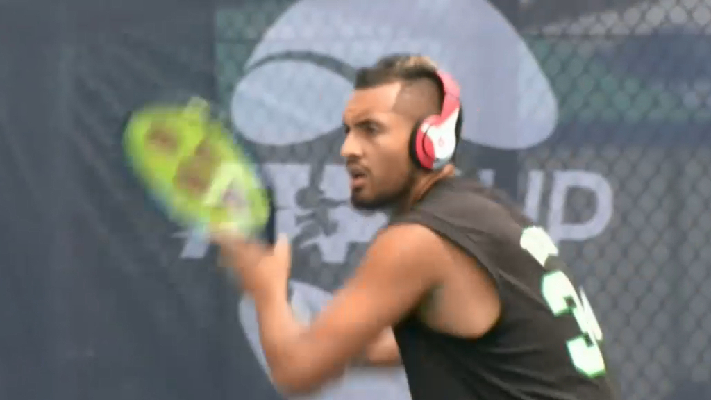 Kyrgios reveals mental health struggles
