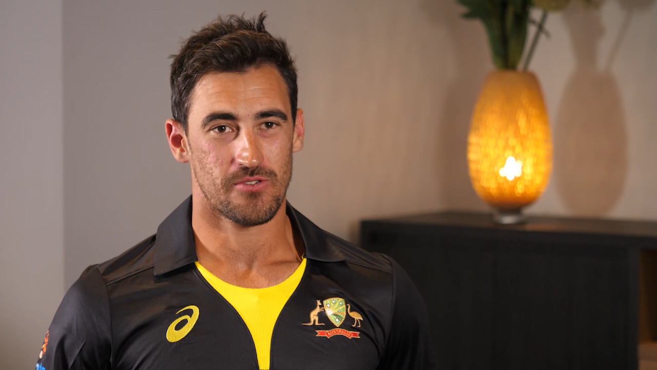 Starc stoked about indigenous T20 kit