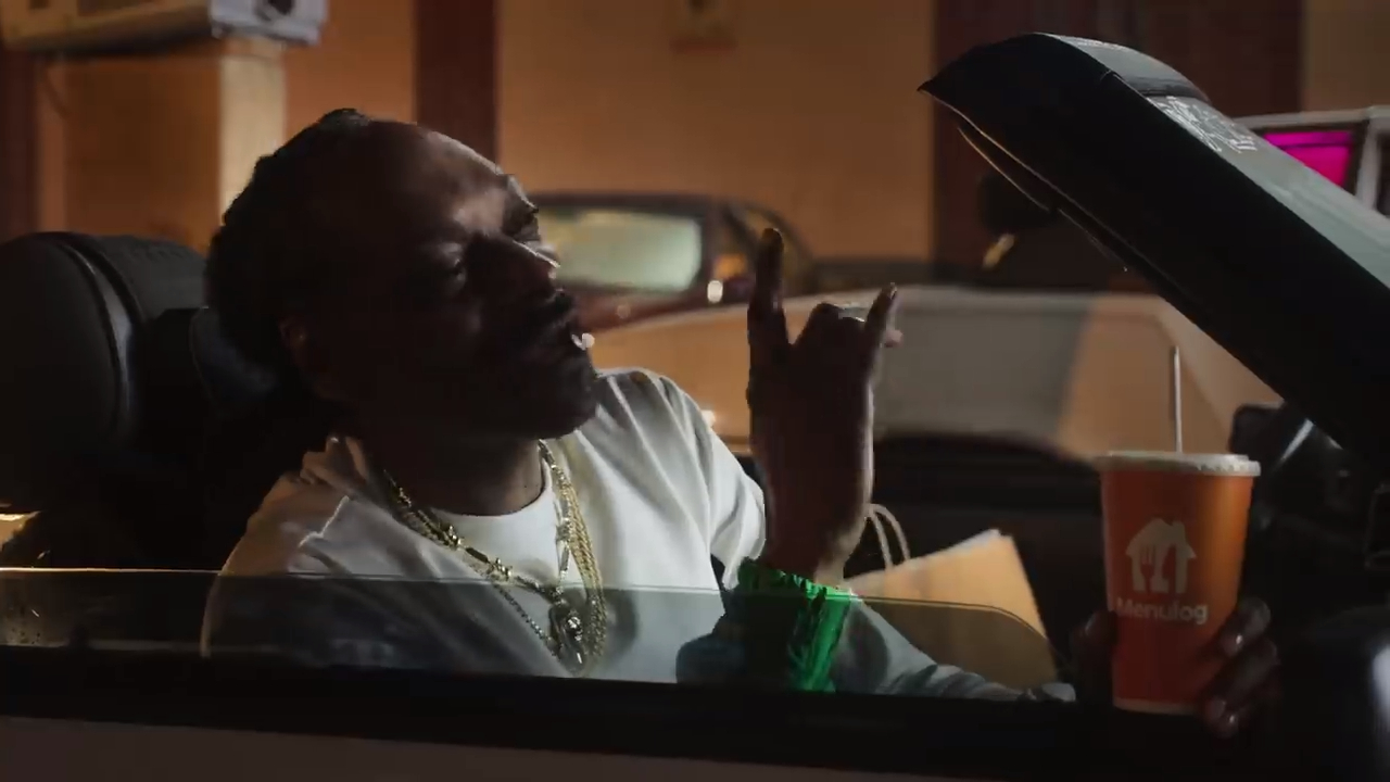 Snoop Dogg teams up with Menulog for 'Did Somebody Say' jingle