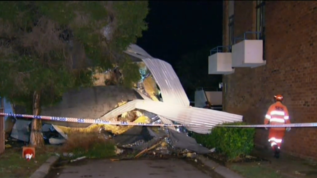 Damaging winds hit NSW Hunter Region