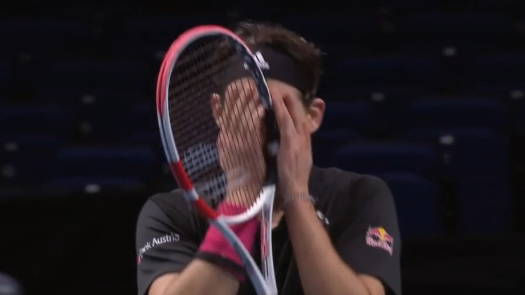 Thiem beats Djokovic in ATP Finals semis
