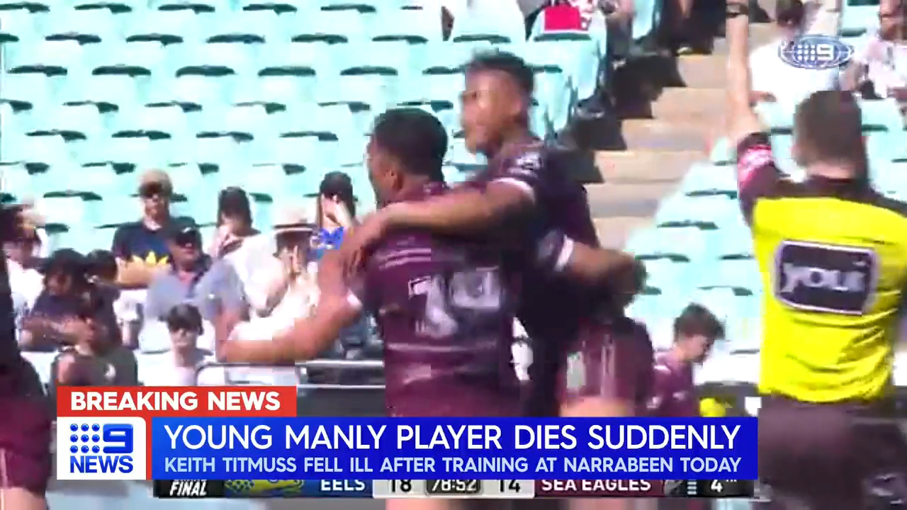 Manly rocked by young gun's death