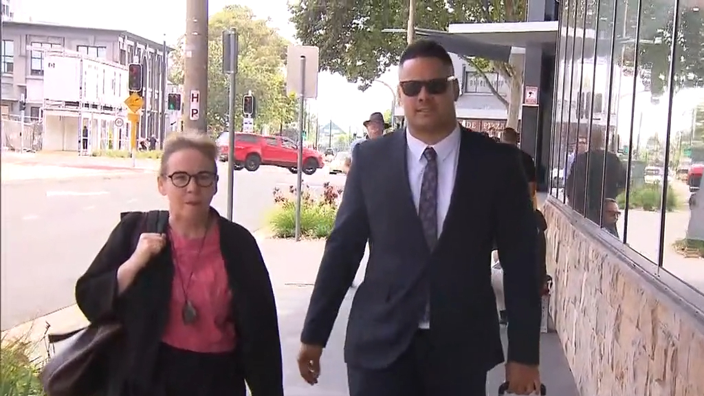 Former NRL star's alleged victim gives evidence in sex assault trial