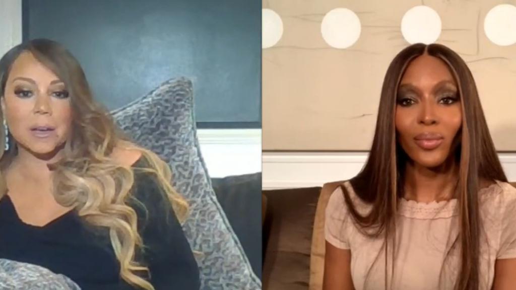 Mariah Carey tells Naomi Campbell of Christmas heartbreak