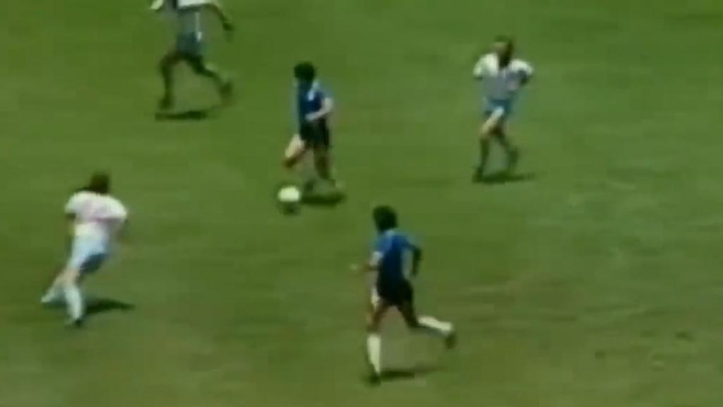 Maradona's masterpiece goal