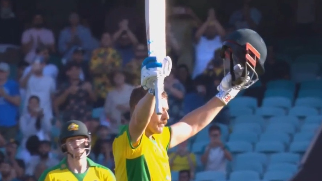 Finch salutes magnificent 100