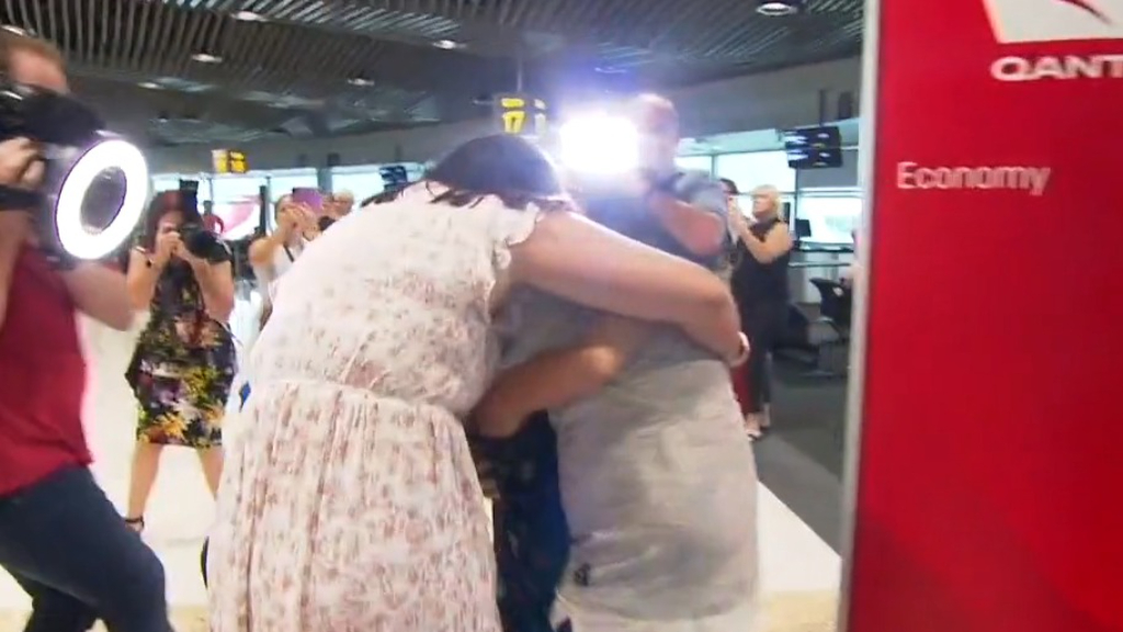 Coronavirus: First flights land in Queensland as border reopens