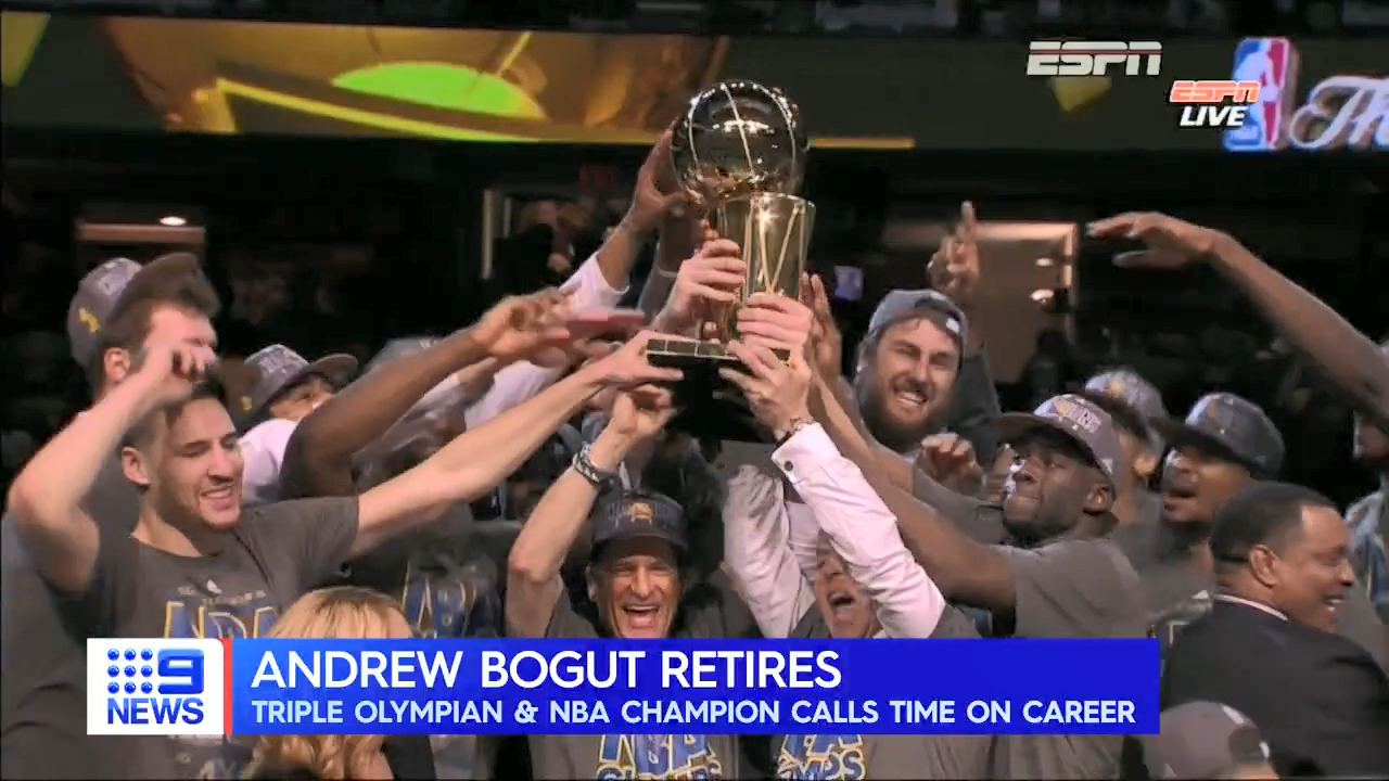 Bogut calls time on basketball career