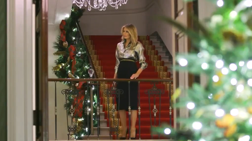 Melania Trump unveils her White House Christmas decorations for 2020