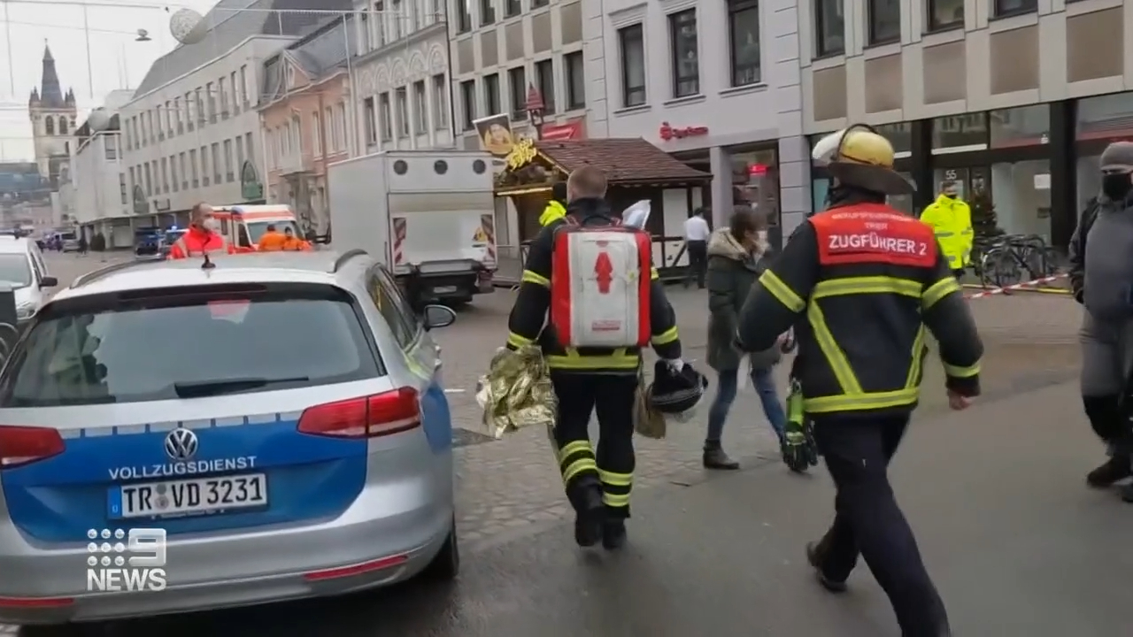 Number of fatalities after driver ploughs through German street