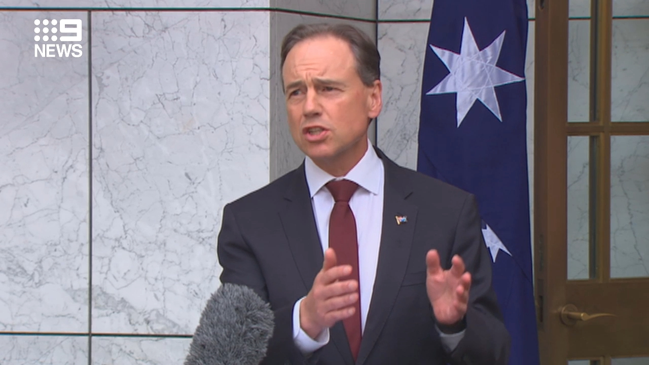 Coronavirus: Greg Hunt speaks on COVID-19 vaccine