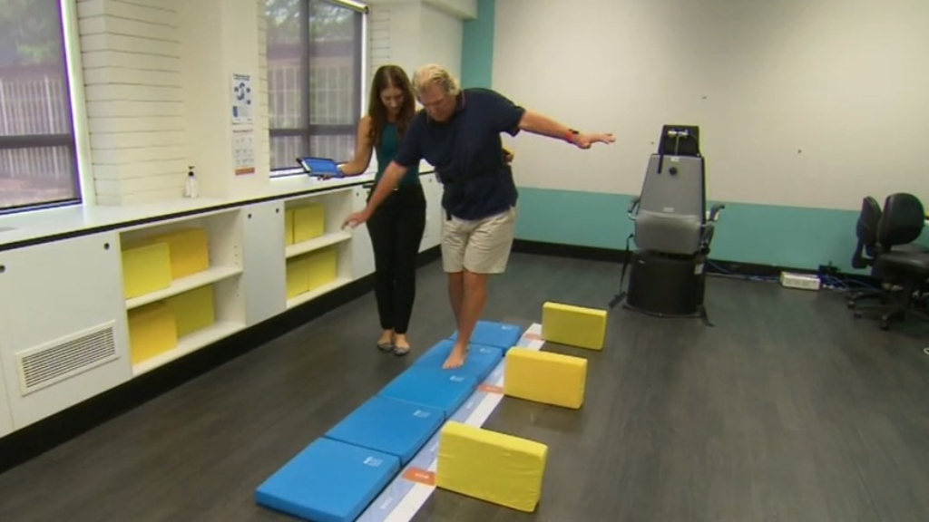 Simple gadget to help prevent falls in the elderly