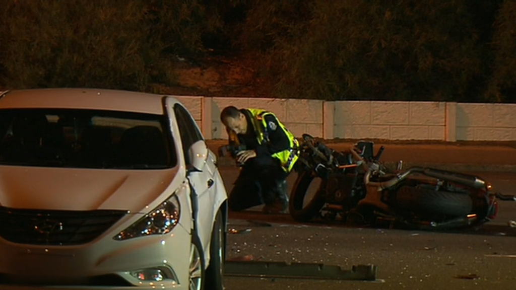 Man charged over fatal crash between car and motorcycle in Perth