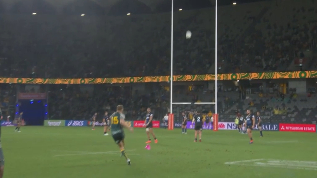 Reece Hodge unable to convert on match-winning penalty goal