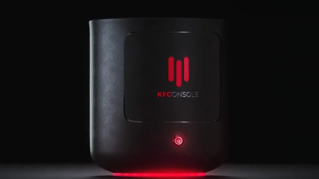 KFC drop ad for new 'KFConsole'
