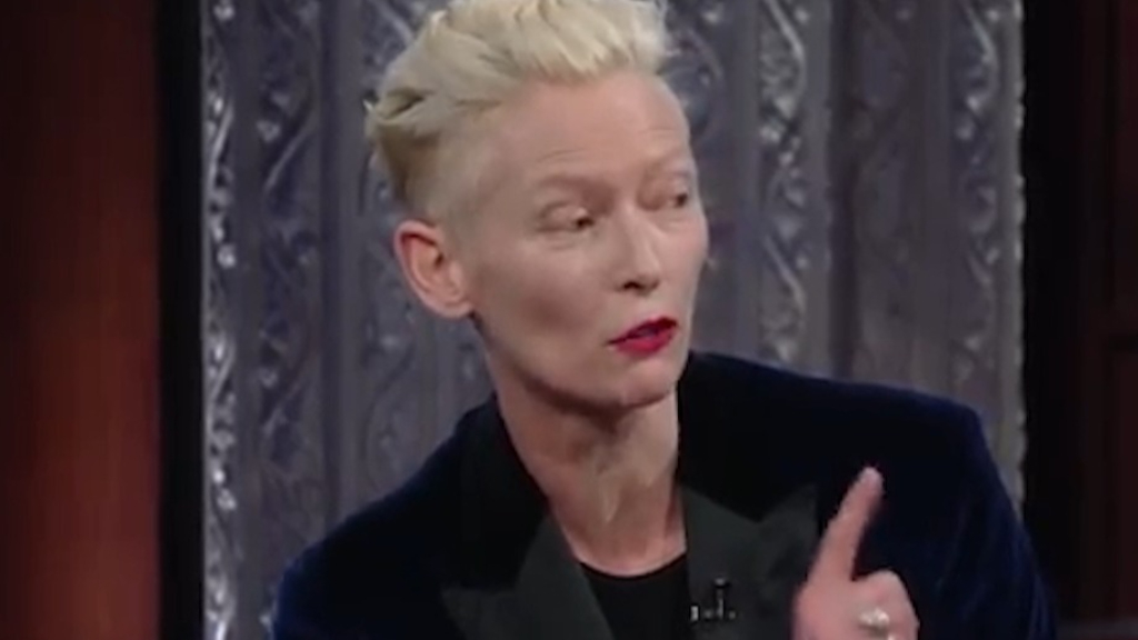Tilda Swinton discusses where her acting inspiration comes from