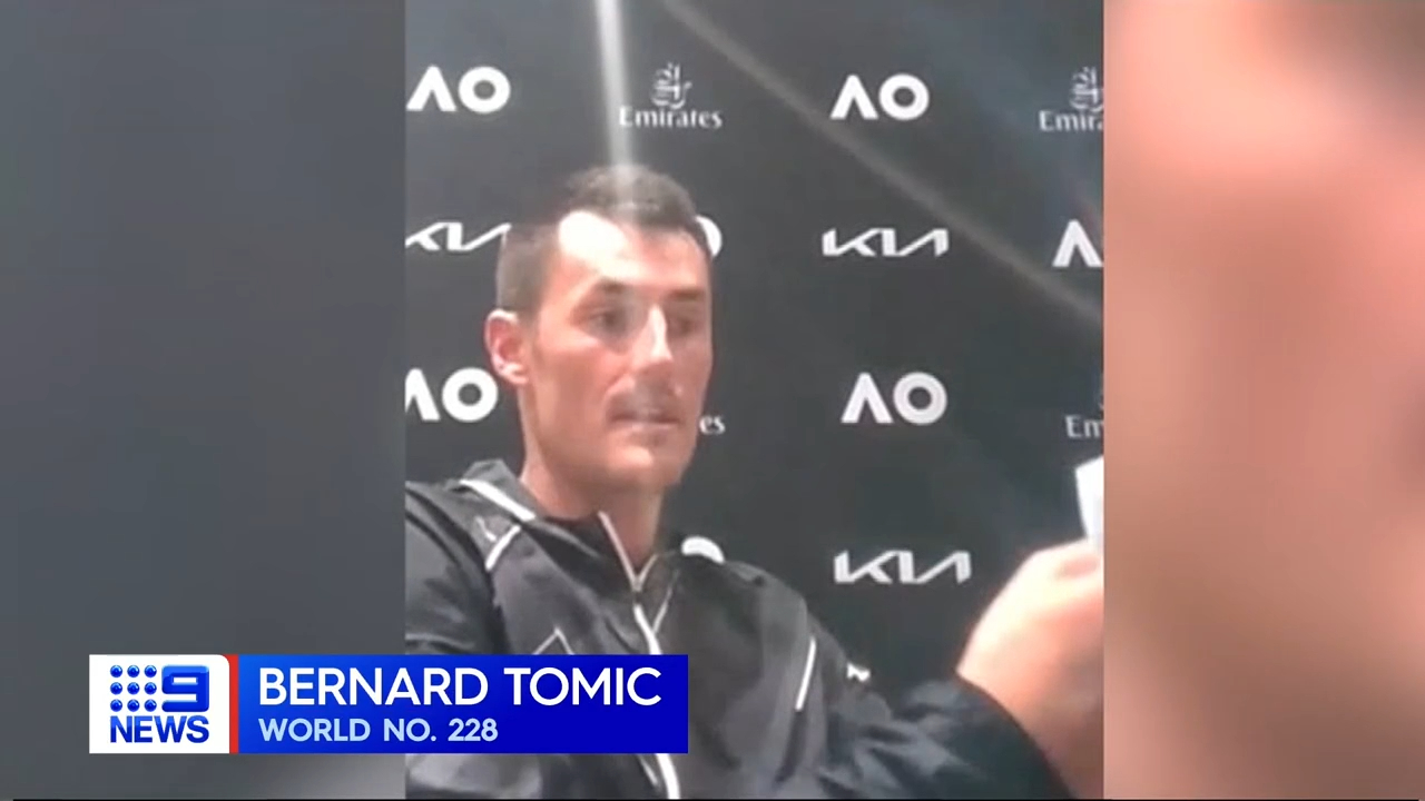 Tomic qualifies for 2021 Australian Open