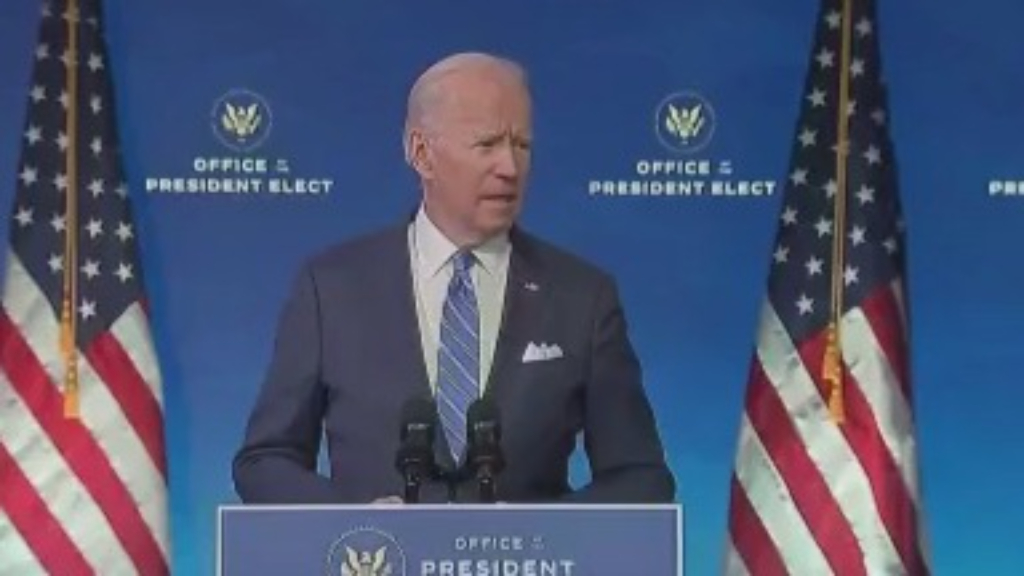 Biden delivers COVID-19 relief plan