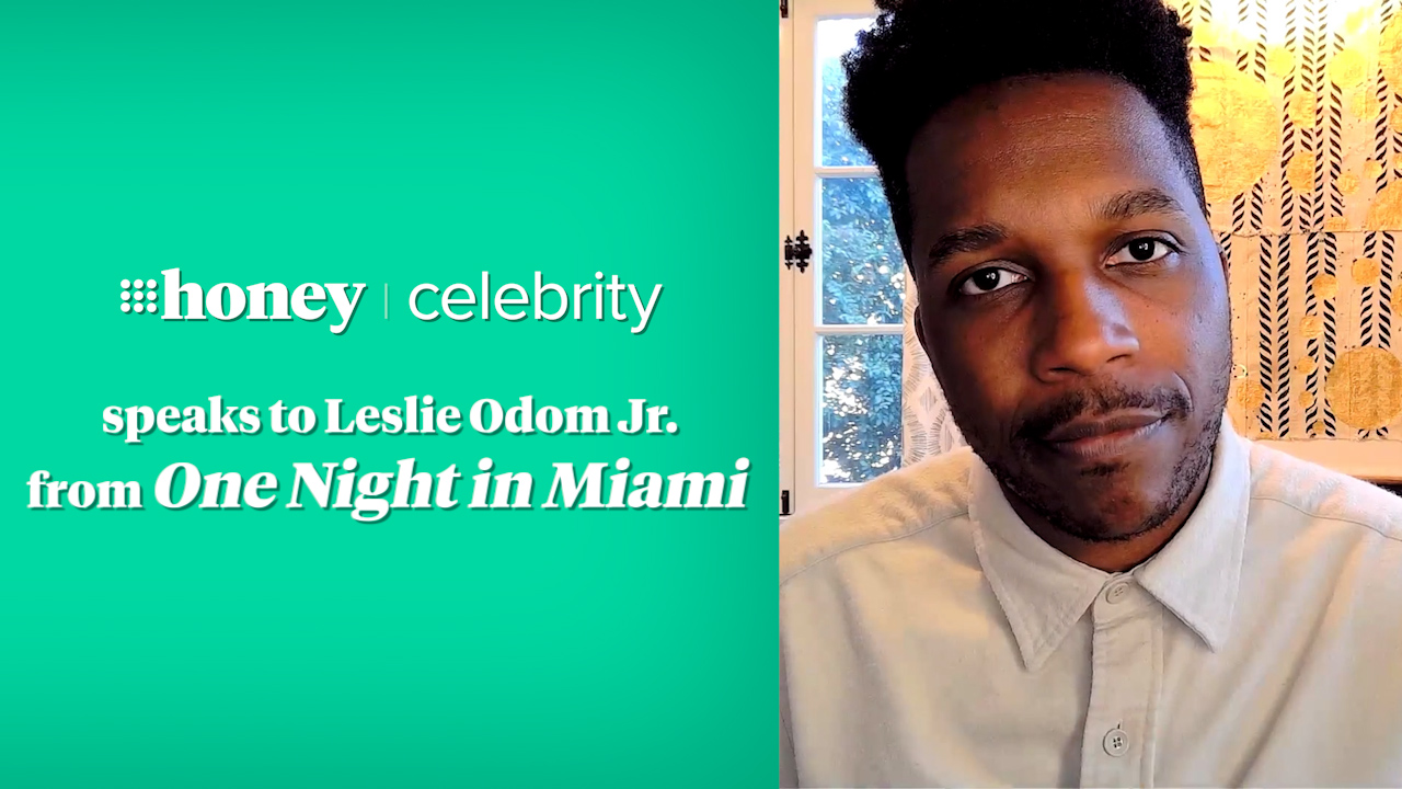 9Honey Celebrity chats to Leslie Odom Jr.