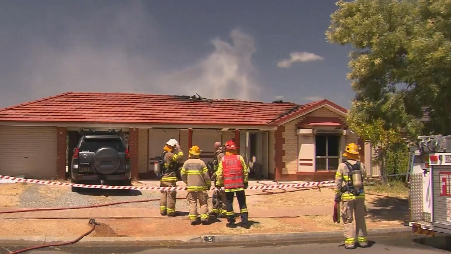 House fire turns family homeless overnight