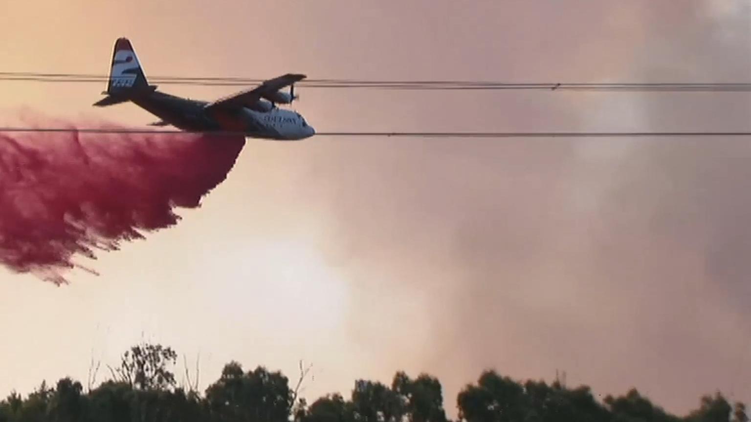 Southern properties ravaged by bushfire