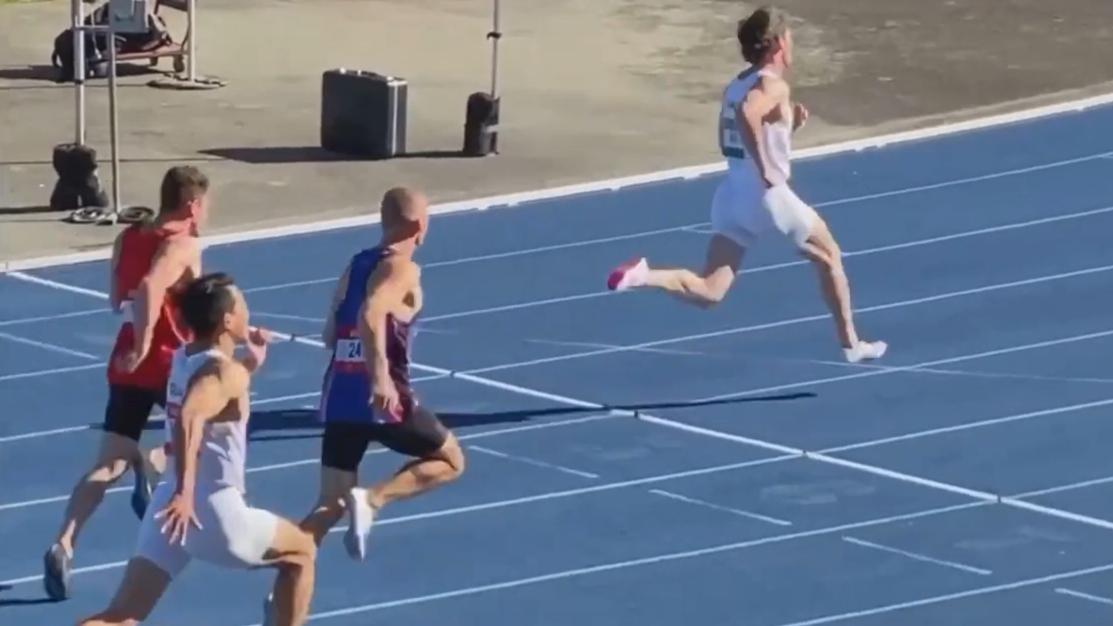 Speed demon becomes second Aussie to break 10-second barrier